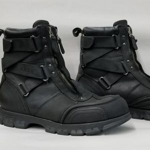 Polo by Ralph Lauren Black leather boots